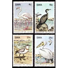 1979 South West Africa(SWA) Mi.458-461 Water birds 3.50 ?