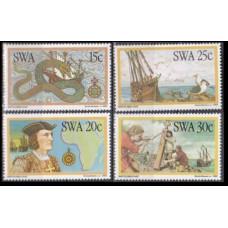 1982 South West Africa(SWA) Mi.520-523 Bartulomeu Dias 3,00