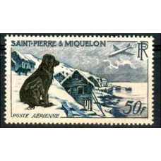 1957 St Pierre & Miquelon Mi.386 Dogs 55.00 €