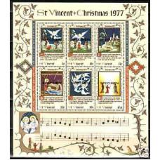 1977 St Vincent Michel 488-93/B7** SPECIMEN ?