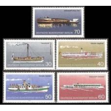 1975 Berlin, West Mi.483-487 Ships 6,50 €