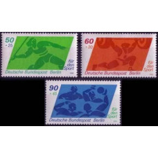 1980 Berlin, West Mi.621-623 Sport 3,50 €