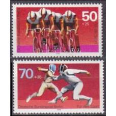 1978 Berlin, West Mi.567-568 Bicycle race 2,80 €