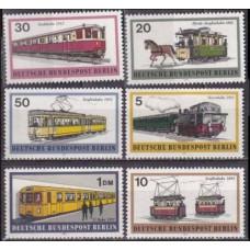 1971 Berlin, West Mi.379-384 Locomotives 6,00
