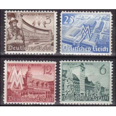 1940 Germany Reich Mi.739-742** 10.00 €