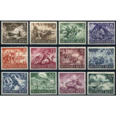 1943 Germany Reich Mi.831-842** World War II 20.00 €
