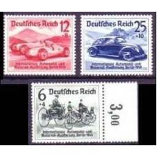 1939 Germany Reich Mi.686-688** Automobiles 110.00 €