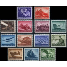 1944 Germany Reich Mi.873-885** World War II 18.00 €