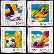 1994 Germany Mi.1717-1720 1994 Olympiad Lillehammer / FIFA 10.00 €
