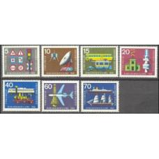 1965 Germany Mi.468-474 Satellite / Satellite Dish 2,00 €
