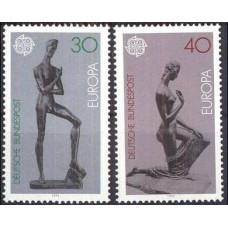 1974 Germany Mi.804-805 Europa 1,40