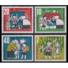 1961 Germany Mi.369-372 Children's Paintings 2,00 €