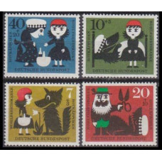 1960 Germany Mi.340-343 Children's Paintings 4,50 €