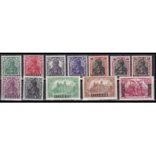 1920 Saargebiet Mi, 32-43 ** 30,00 €