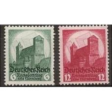 1934 Germany Reich Mi.546-547 ** Architecture 85.00 €