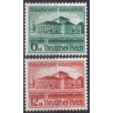 1938 Germany Reich Mi.673-674 ** Architecture 25.00 €