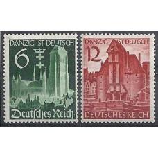 1939 Germany Reich Mi.714-715 Architecture 5,00 €