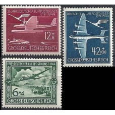 1944 Germany, Reich Mi.866-868 Planes 3,00 €