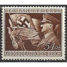 1944 Germany Reich Mi.865** Adolf Hitler 2,00 €