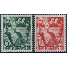 1938 Germany Reich Mi.660-661** 20,00 €