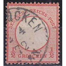 1872 Germany Reih Michel 3 used 55.00 €