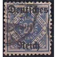 1920 Germany Reih Michel D 55x used 11.00 €