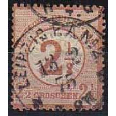 1874 Germany Reih Michel 29 used 55.00 €