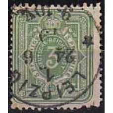1875 Germany Reih Michel 31 used 7.00 €
