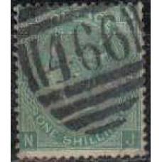 1867 Great Britain Michel 33 used Victoria 17.00 €