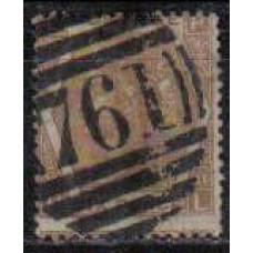 1872 Great Britain Michel 38a used Victoria 40.00 €