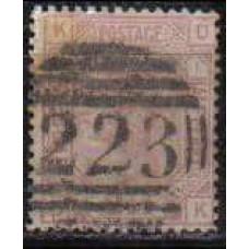 1875 Great Britain Michel 40x used Victoria 50.00 €