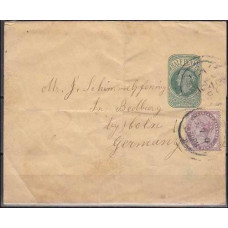 1881 Great Britain GB – GERMANY Official Victoria SCARCE old cover €