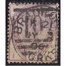 1884 Great Britain Michel 73 used Victoria 25.00 €