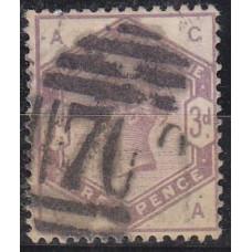 1884 Great Britain Michel 76 used Victoria 70.00 €