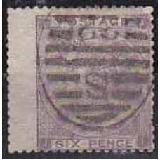 1862 Great Britain Michel 20 I w5 used Victoria 50.00 €