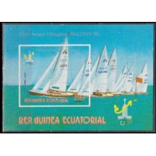 1978 Guinea Equatorial Mi.1306/B288b 1980 Olympic Moscow 7,00