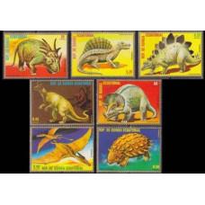 1978 Guinea Equatorial Mi.1352-1358 Dinosaurs 4,00