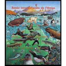 1998 UN Geneva Mi.334-345KL Sea fauna 8,00 €