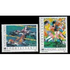 1988 UN Geneva Mi.169-70 Sport 2,00 €