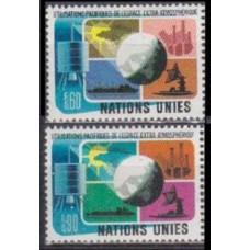 1975 UN Geneva Mi.46-47 Satellite 1,70