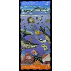 1992 UN Vienna Mi.127-28Paar Sea fauna 2,50 €