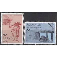 1993 Aland Mi.70-71 Europa 2,00