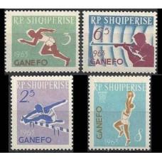 1964 Albania (SHQIPERIA) Mi.805-808 Sport 5,50 €