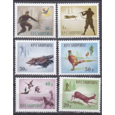 1965 Albania (SHQIPERIA) Mi.982-987 Fauna 12,00 €