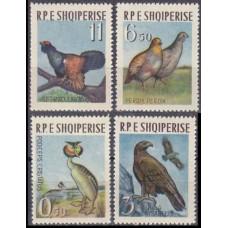 1963 Albania (SHQIPERIA) Mi.741-744 Birds 22,00 €