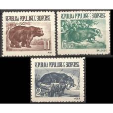 1961 Albania (SHQIPERIA) Mi.627-629 Fauna 30,00 €