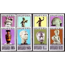 1974 Albania (SHQIPERIA) Mi.1747-1754 Sculpture 9,00