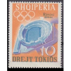 1964 Albania (SHQIPERIA) Mi.838 Overprint - # 826 8,00 €