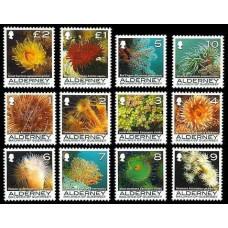 2006 Alderney Mi.286-297 Sea fauna 11,00 €