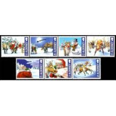 2013 Alderney Mi.483-489 Christmas 10,00 €